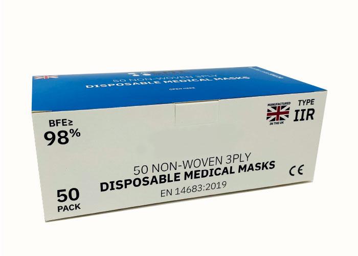 PPE packaging Wren Packaging